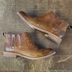 Kork Ease Velma Distressed Ankle Boots 7